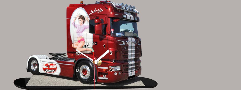 horloges camions