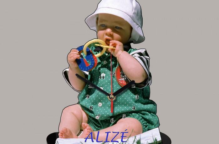 "Horloge  ""Enfant"""