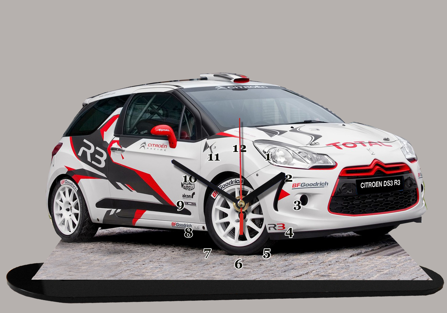 la nouvelle citroen ds 3 r3 max en miniature auto horloge. Black Bedroom Furniture Sets. Home Design Ideas