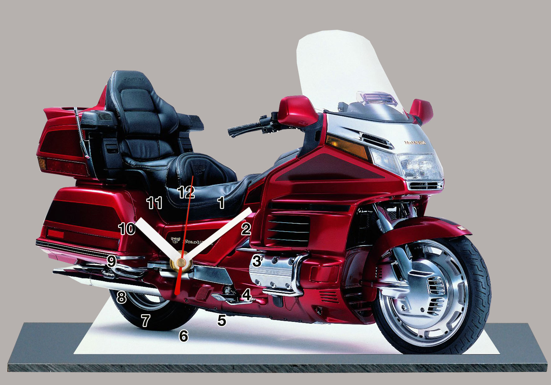 maquette moto goldwing. Black Bedroom Furniture Sets. Home Design Ideas