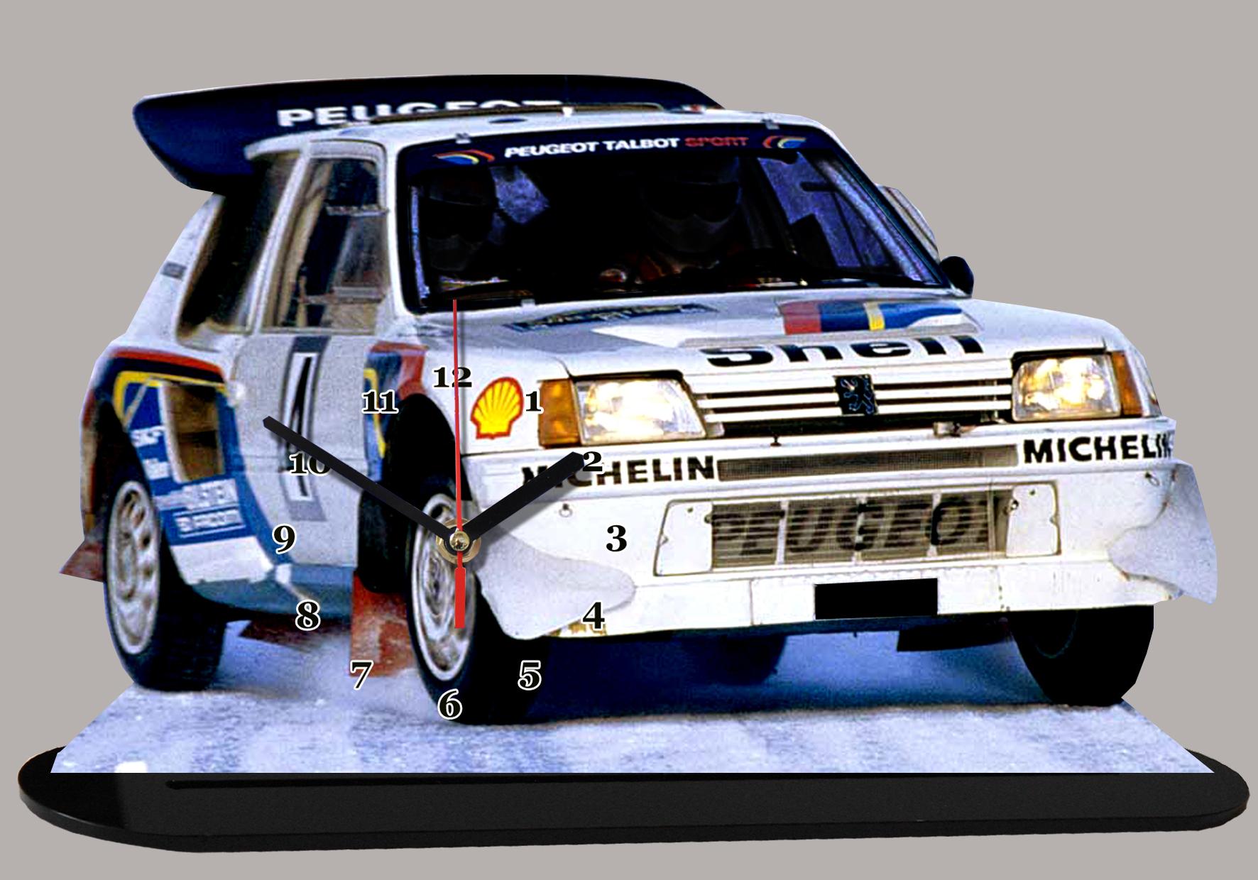 Premier Auto Group >> Peugeot 205 Turbo 16 Gr b en miniature auto horloge,