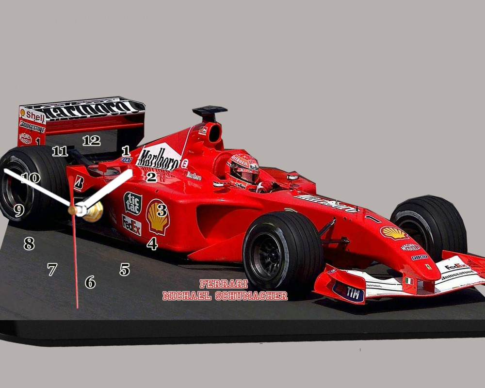 michael schumacher pilote de formule 1 sur ferrari. Black Bedroom Furniture Sets. Home Design Ideas