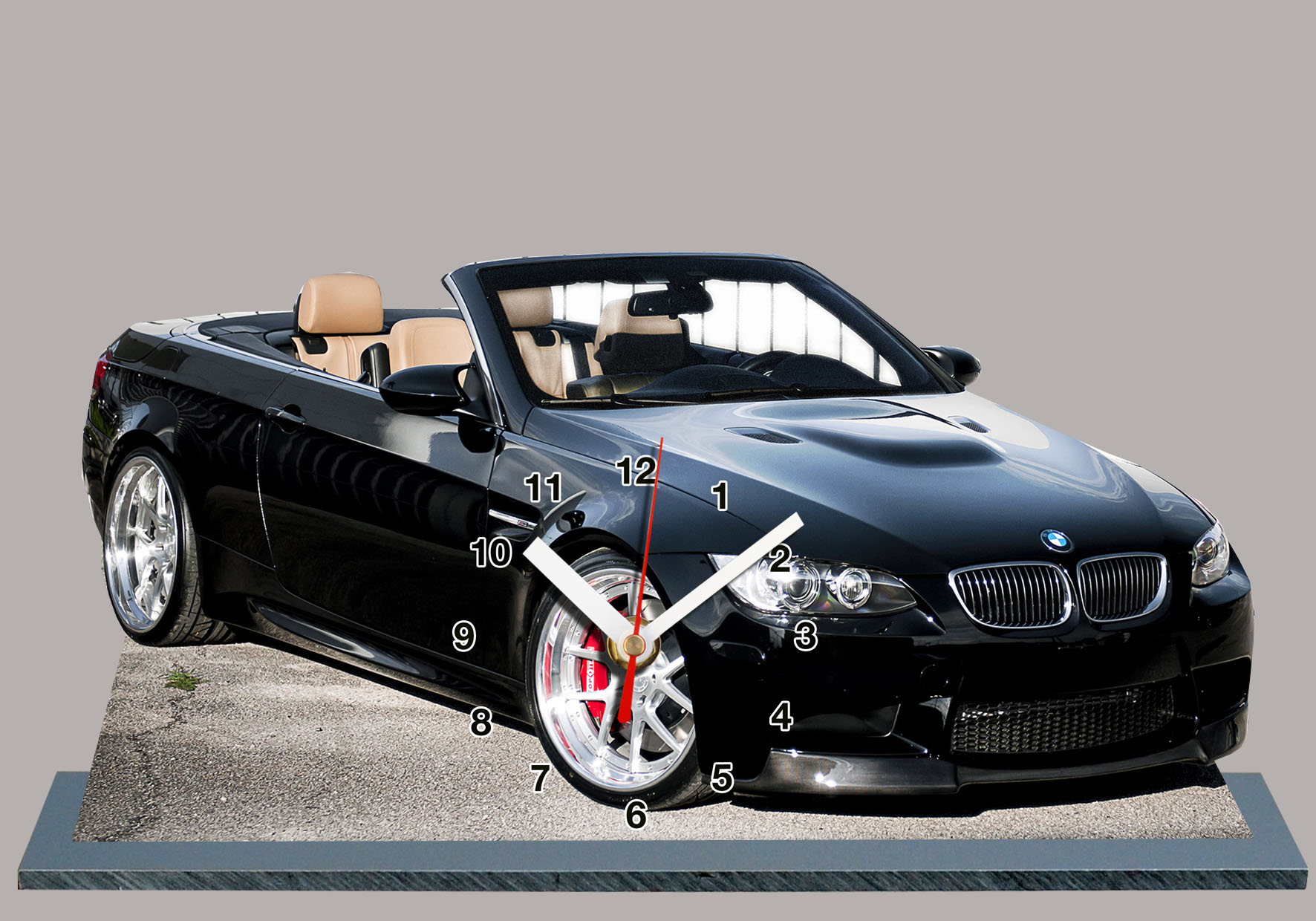 bmw m3 e93 cabriolet noir en auto horloge miniature. Black Bedroom Furniture Sets. Home Design Ideas