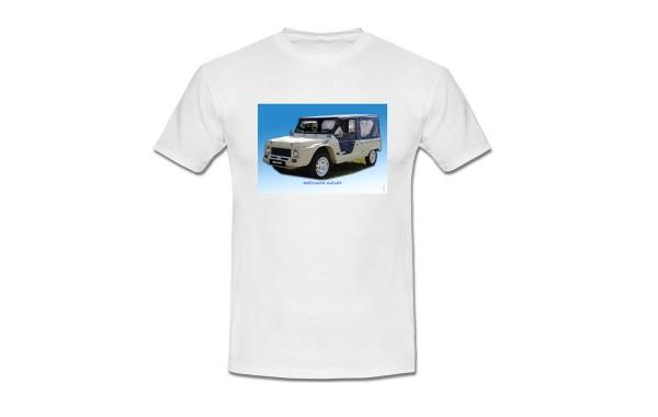 T-shirt col en V, recto verso