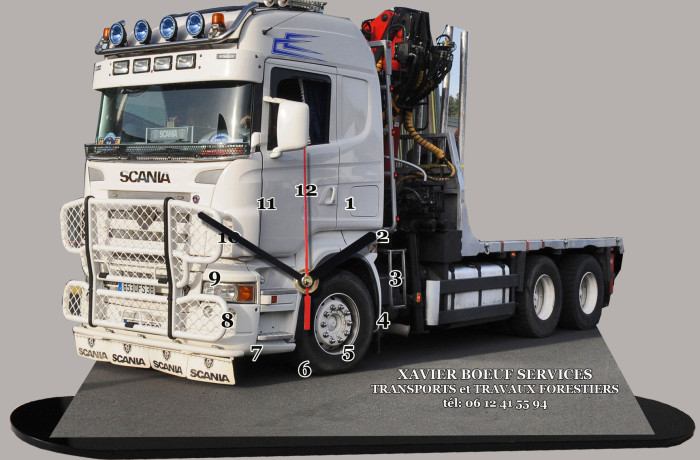Transports et Travaux Forestiers Xavier Boeuf Services