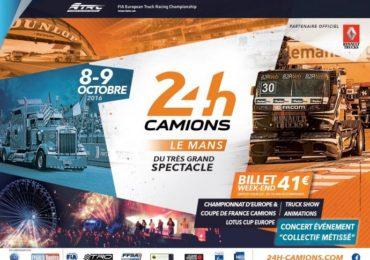 Auto-horloge.fr aux 24h Le Mans Camions, les 08 et 09 octobre 2016