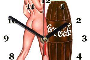 Publicité Coca sexy années 60