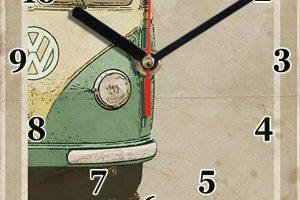 combi vw vintage en horloge