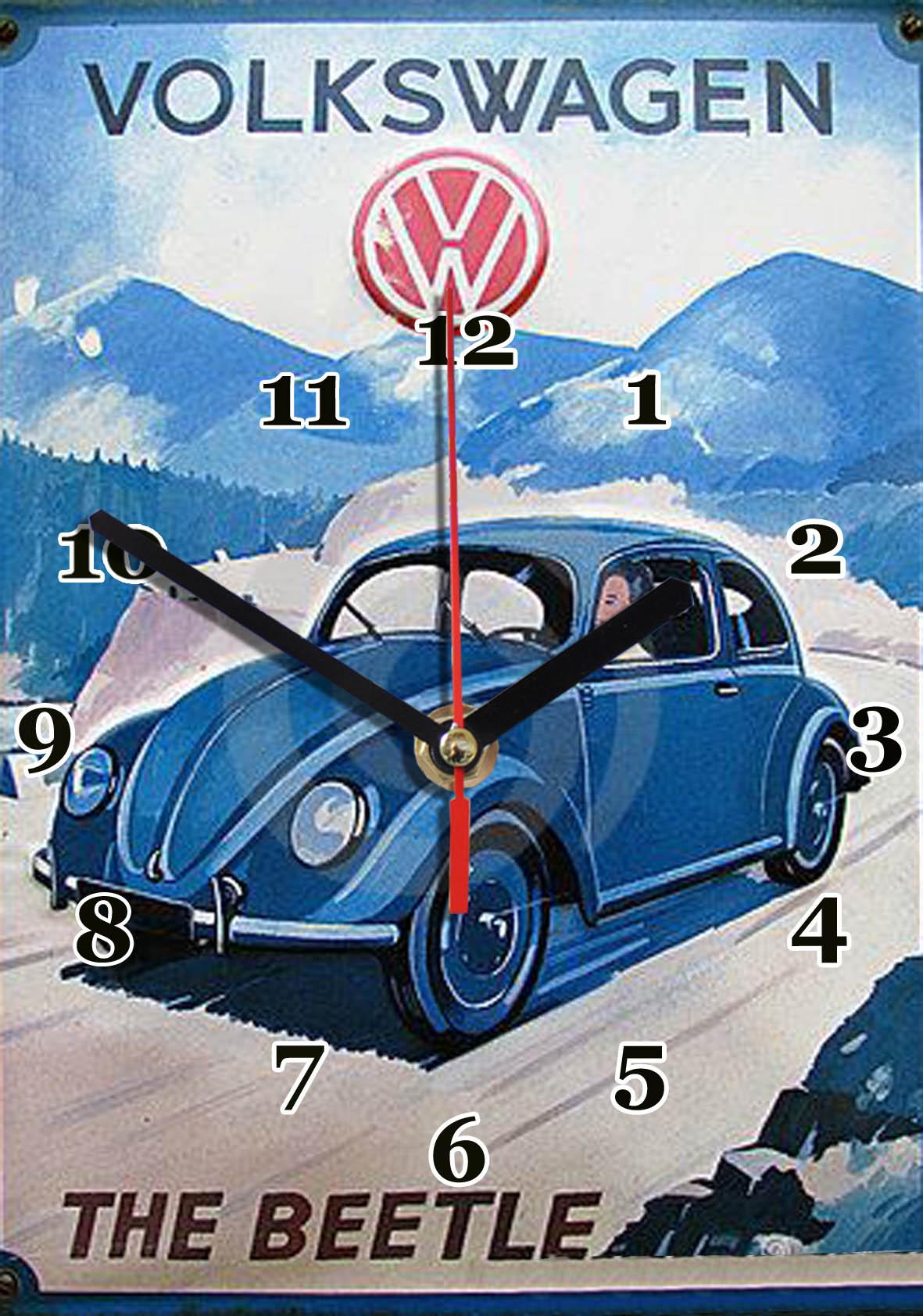 volkswagen ,beetle en horloge , idée cadeau