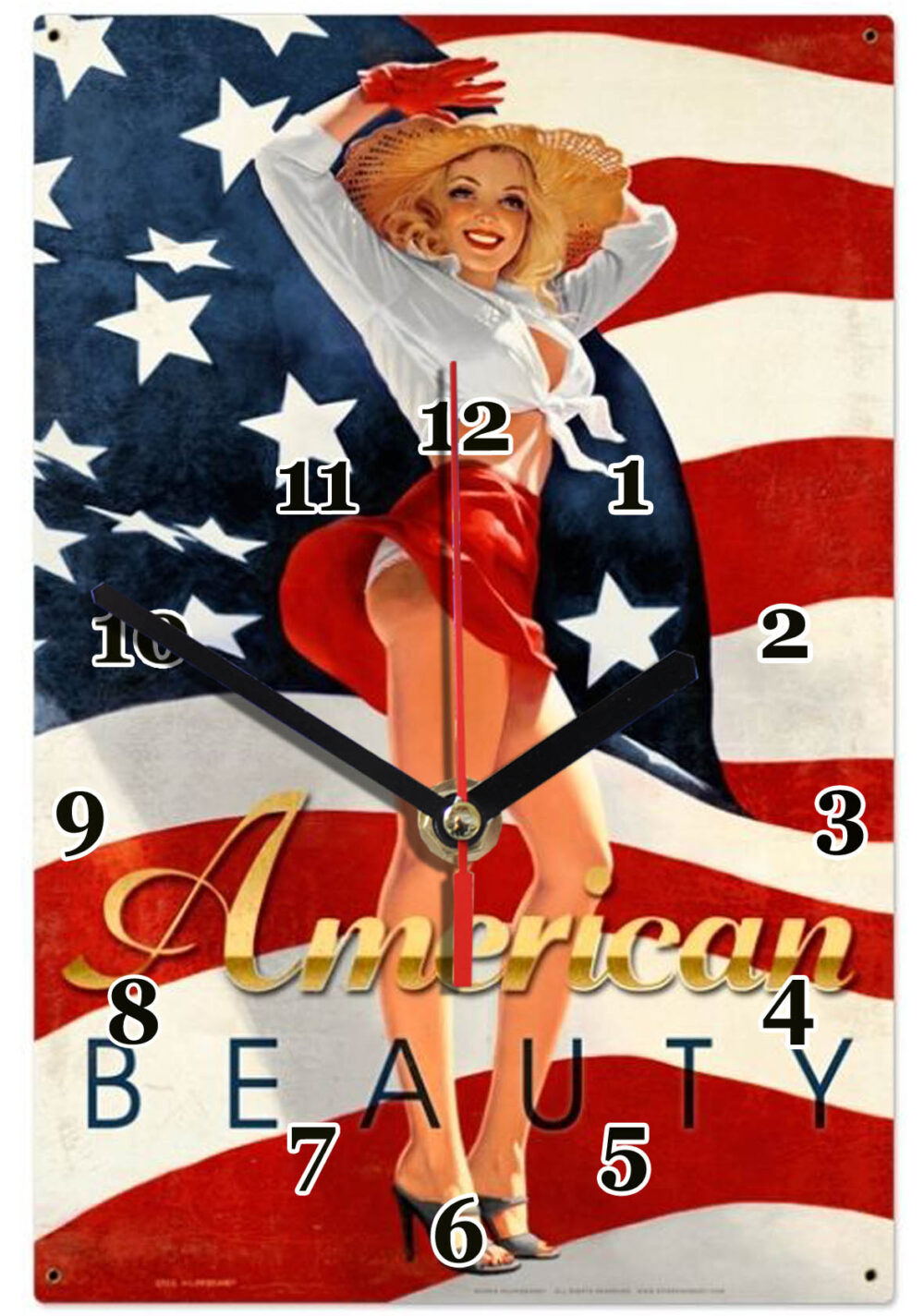 pin up american beauty