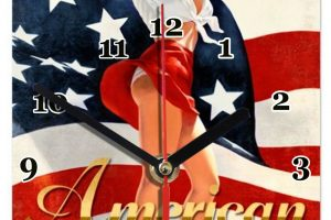 pin up american beauty
