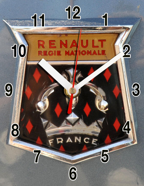 logo renault retro vintage