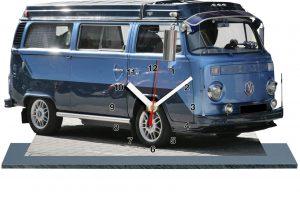 combi Volkswagen 2 couleurs bleues