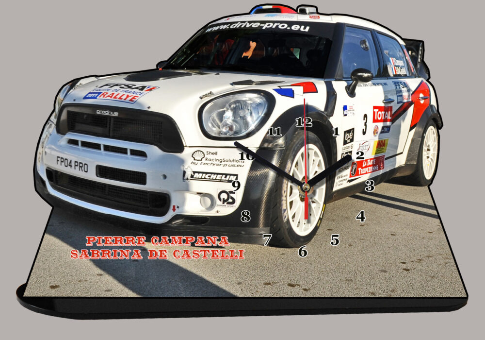 Mini :: Rallye Pierre Campana en miniature auto
