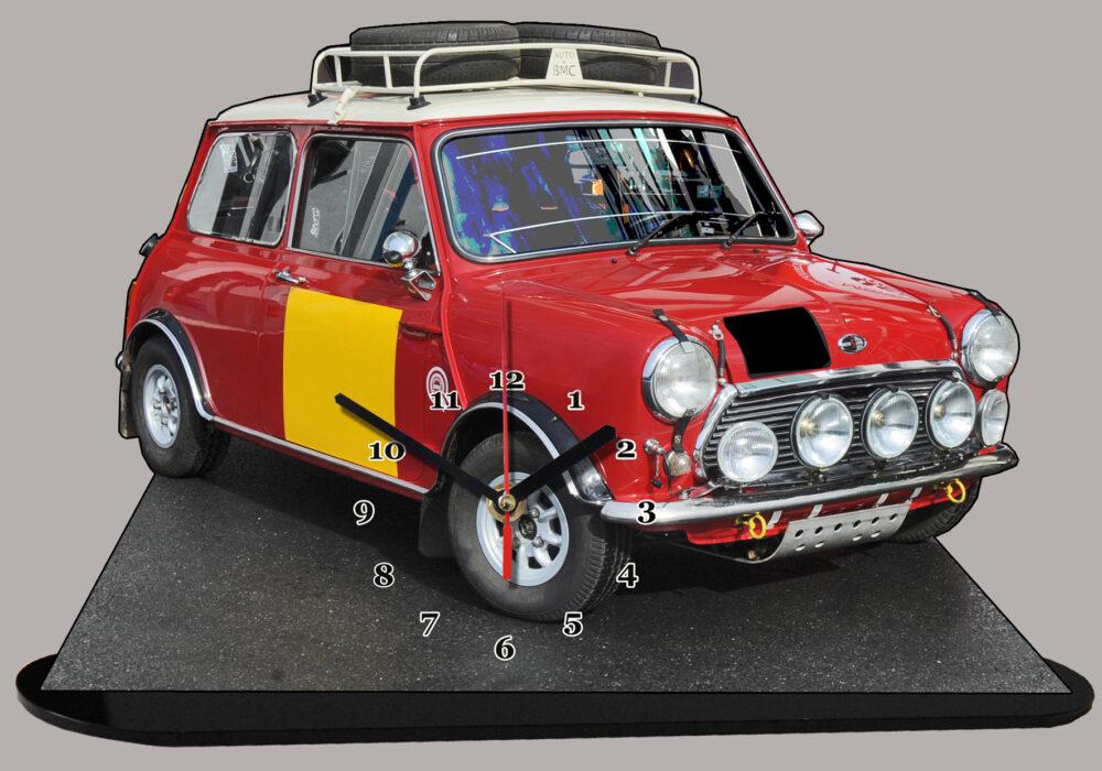 austin mini rallye en miniature
