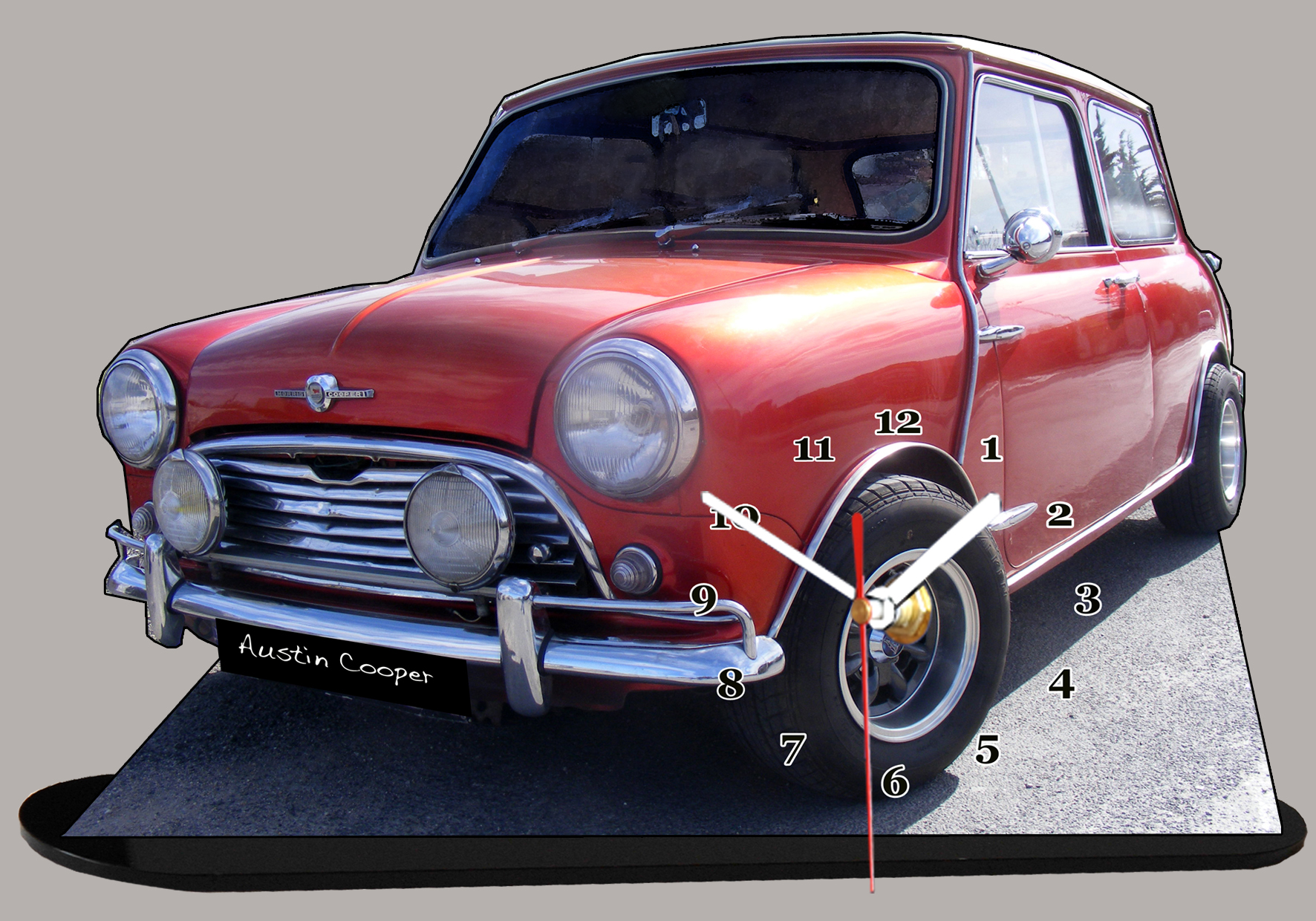 austin mini rouge miniature