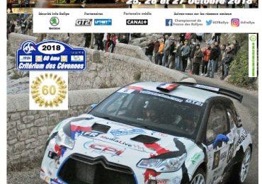 Auto-horloge.fr au Rallye des Cévennes 2018 à Montpellier