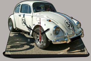 Volkswagen Coccinelle en auto-horloge