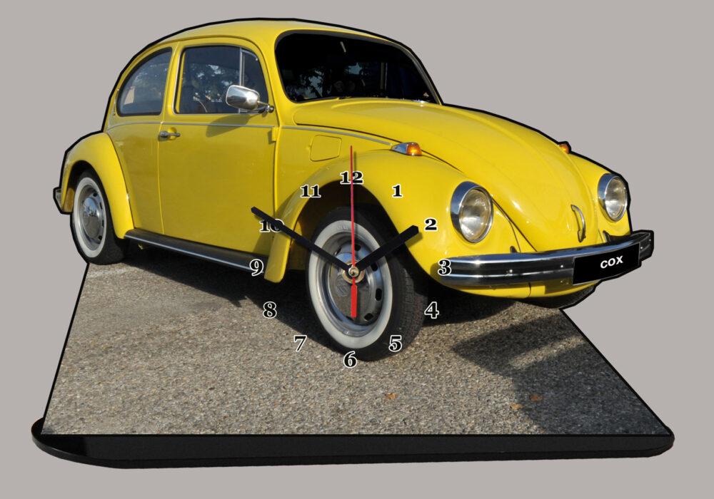 Cox-VW-beetle jaune
