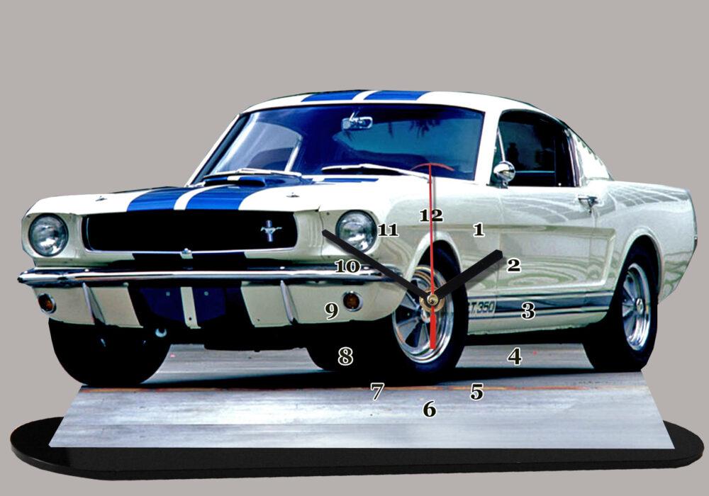 Ford Mustang Shelby de 1965 en miniature auto horloge