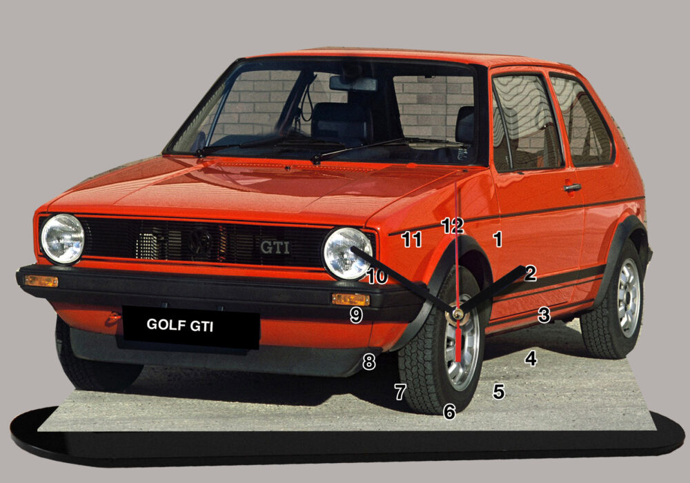 golf GTI année 80
