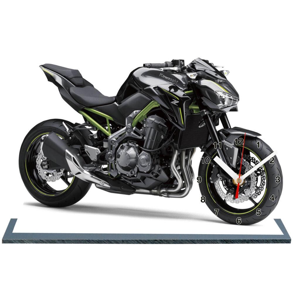 Kawasaki z900 moto horloge idée cadeau