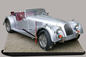 Morgan automobile en miniature
