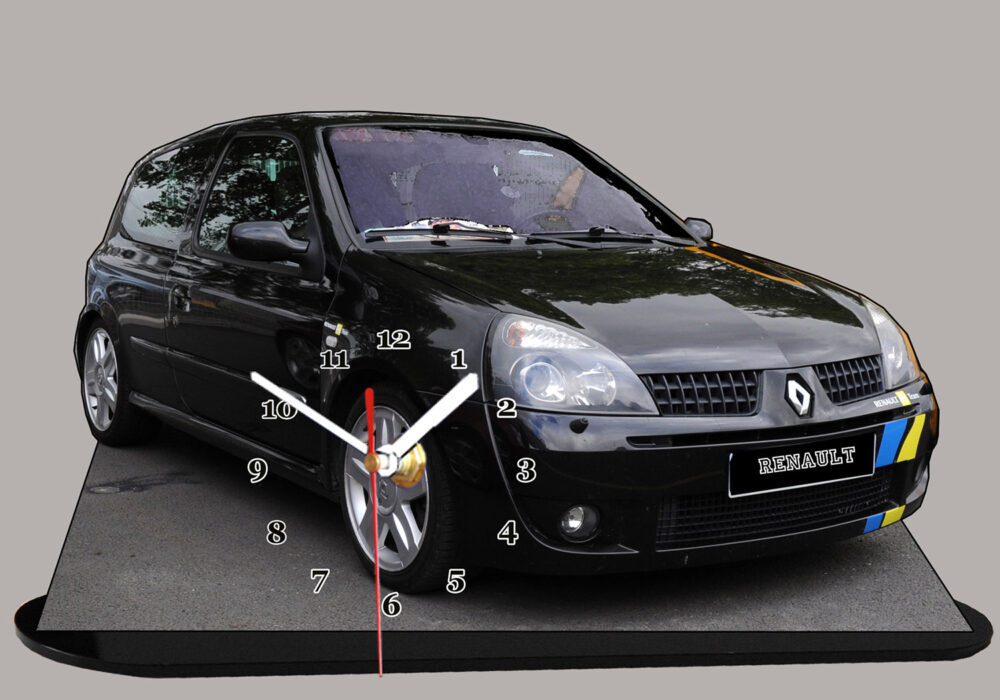 Clio sport auto horloge