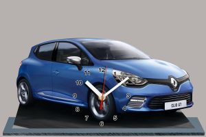 Clio sport bleue miniature