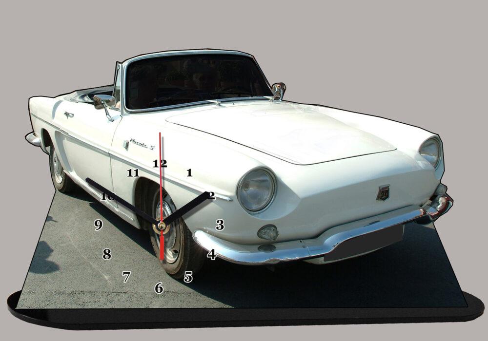 renault floride cabriolet blanche , idée cadeau